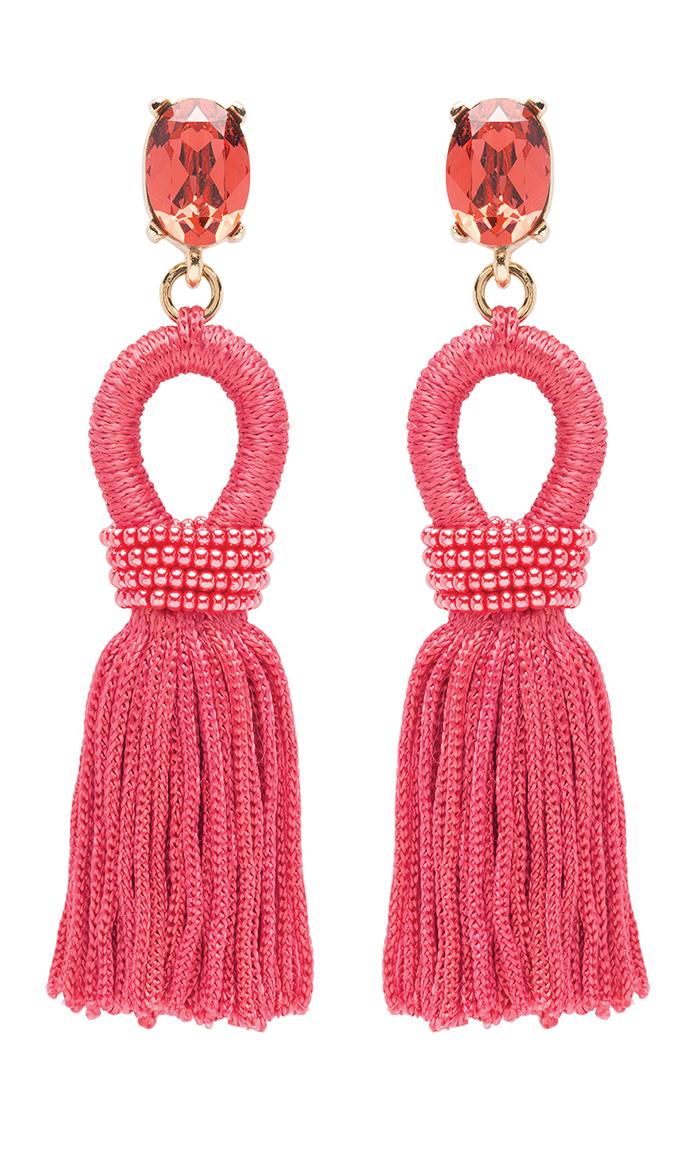 Style_PinkTasselEarrings